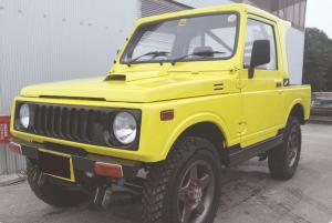JAZZ 幌MT4WD リフトアップ